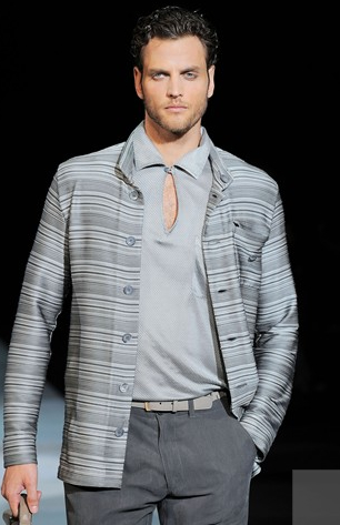 Giorgio Armani SS 10 - Grey is the new black!