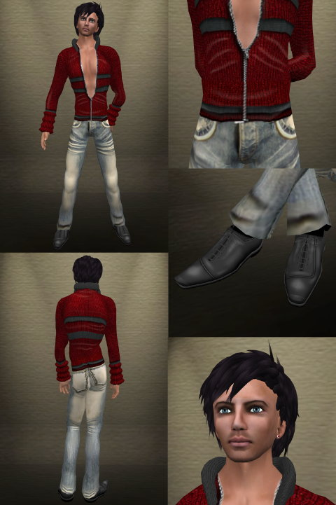 Virtual Style Men S Fashion On Second Life Menstylepower