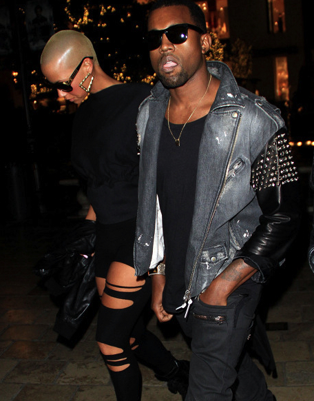 leather punk rock kanye 2