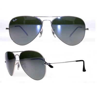 The latest Aviator's from Ray Bans