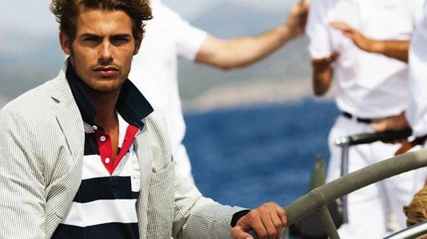 Henri Lloyds masculine and sporty look