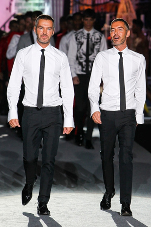 Dean and Dan Caten (The Designers, twins)