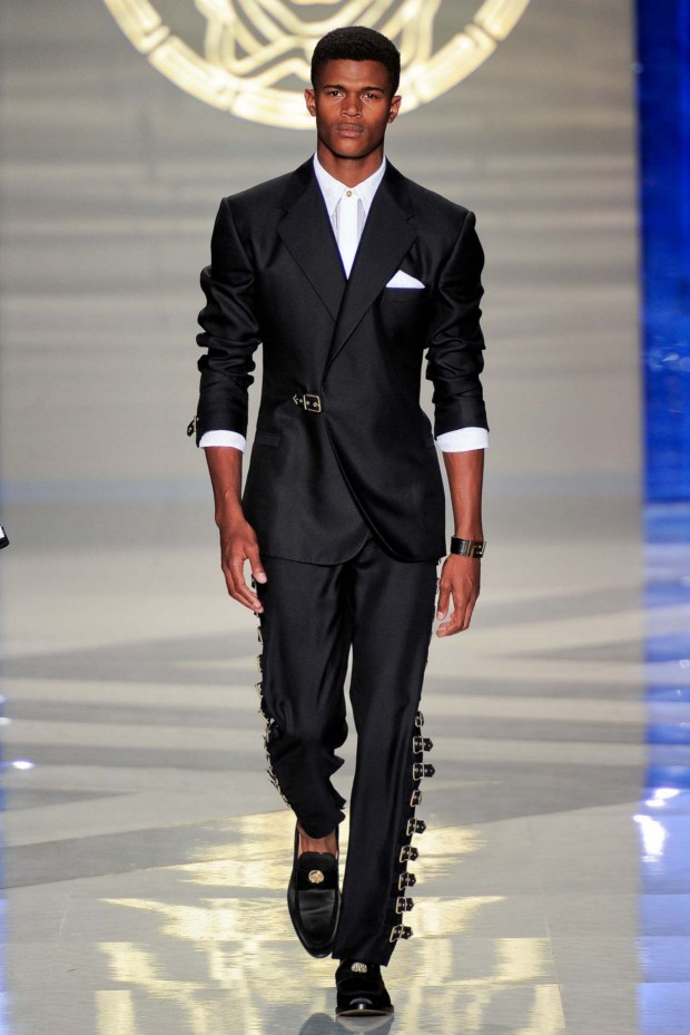 Versace giving a modern twist to the tux