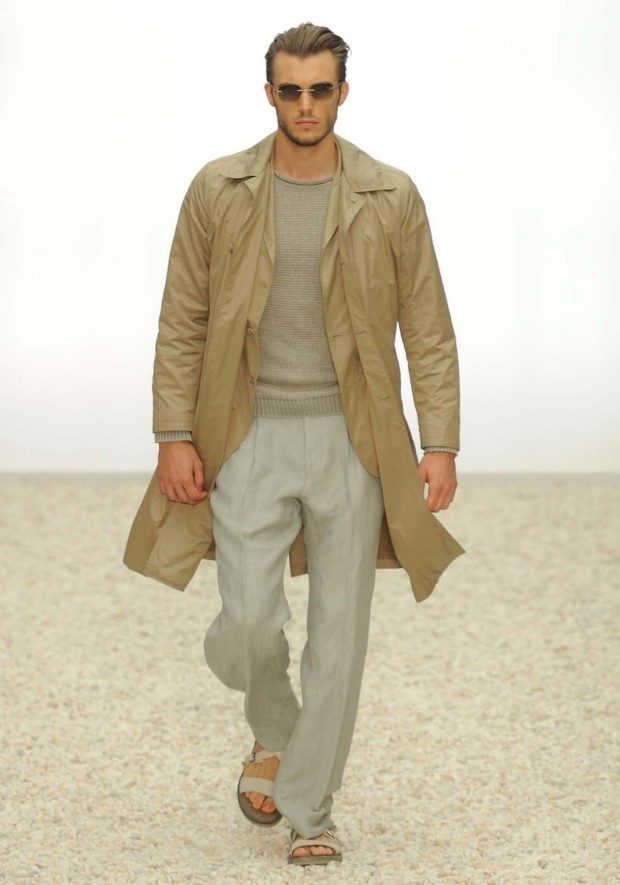 Different tone of brown from Ermenegildo Zegna