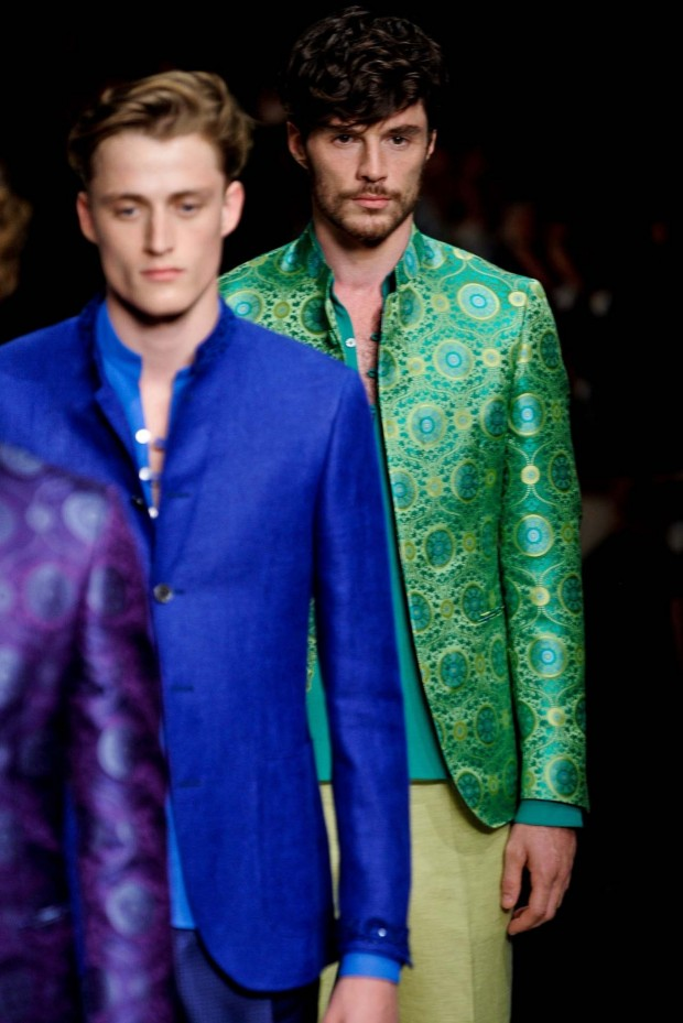 Canali gets seductive with silk