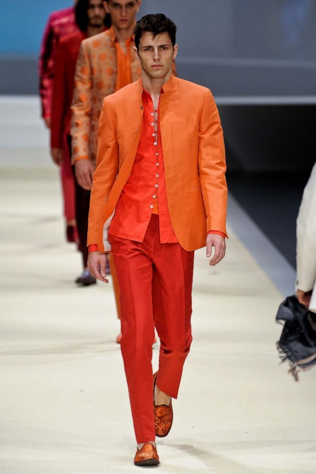 True orange shading by Canali