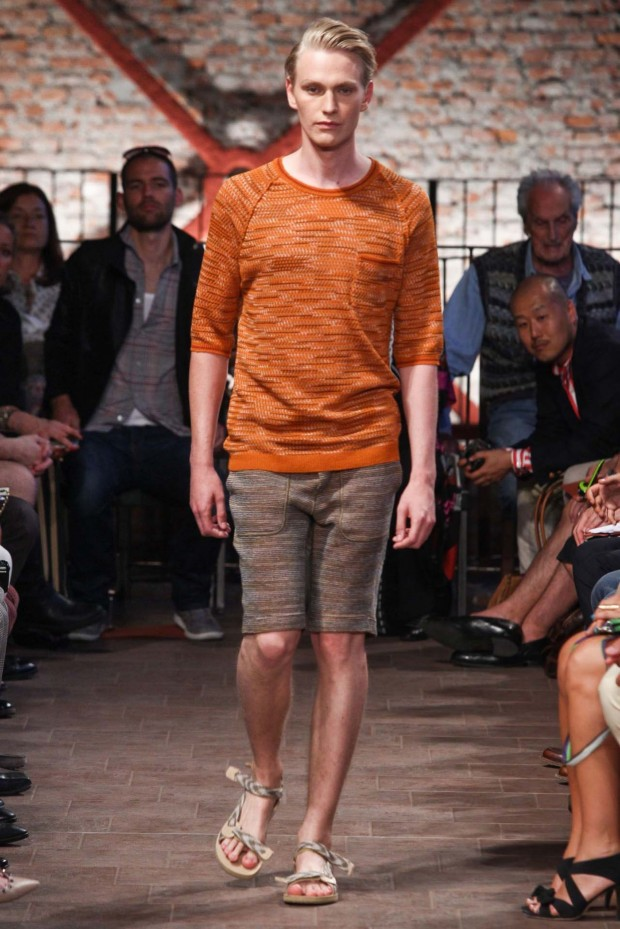 Missoni take orange down a tone to terra cotta