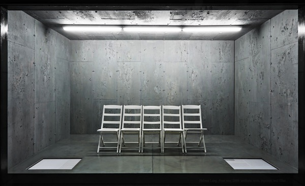 Helmut Lang's 5 front row seats of his last show