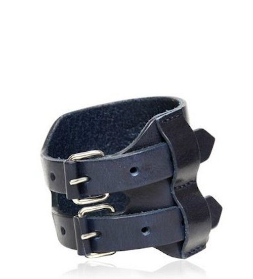 MSP dig this, Maison Martin Margiela's leather wrist band $231