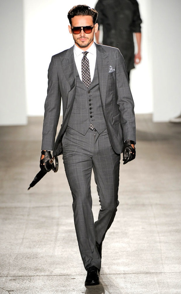 Simon Spurr three-piece suit