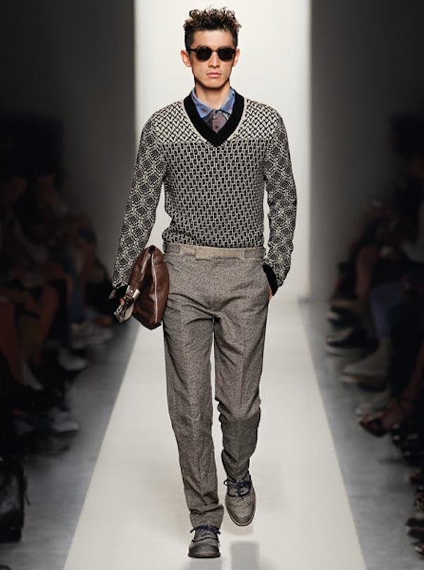 Bottega Veneta SS12 - stunning, simple and elegant.