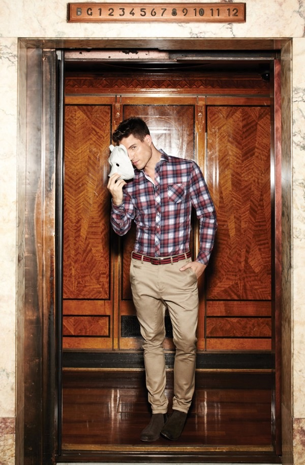 Australian brand, Calibre AW 12/13 - The Lumber Jack is back!