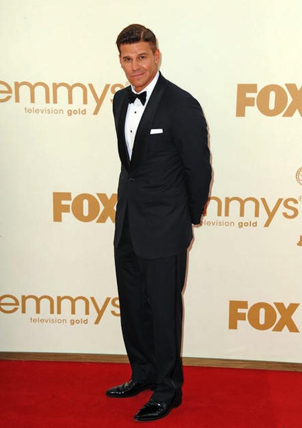 David Boreanaz at the 2011 Emmy Awards