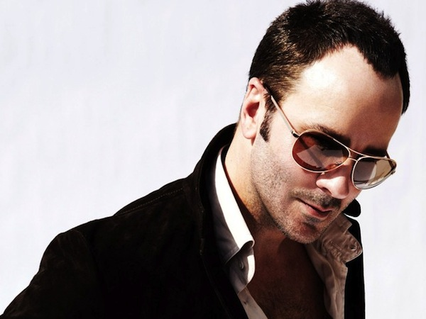 Tom Ford modelling his eyewear