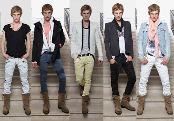 Balmain's Spring menswear 2012/13 - Awesome!