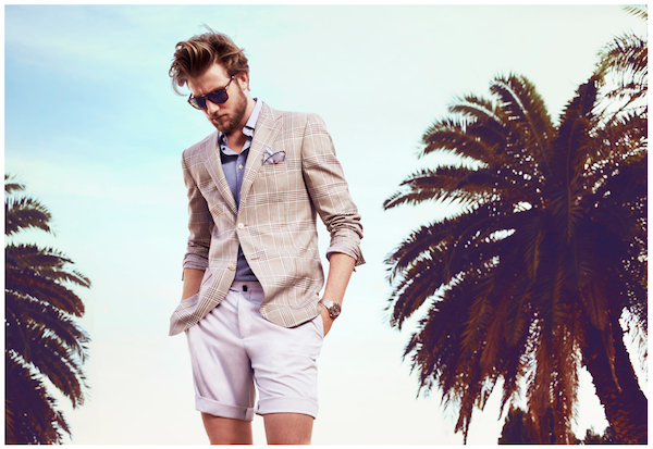 Herringbones new campaign shows off an array of men's dapper styling for Summer.