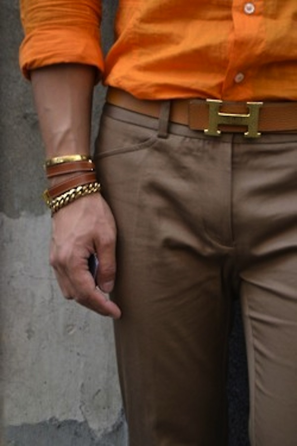 Accessories are a huge hit for Gents during the warmer months. Wrist bands and necklaces are the go.
