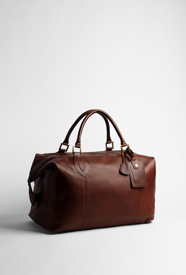Barbour chocolate weekender