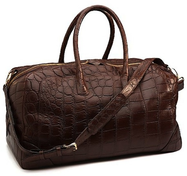 Brooks Brothers Crocodile Overnighter