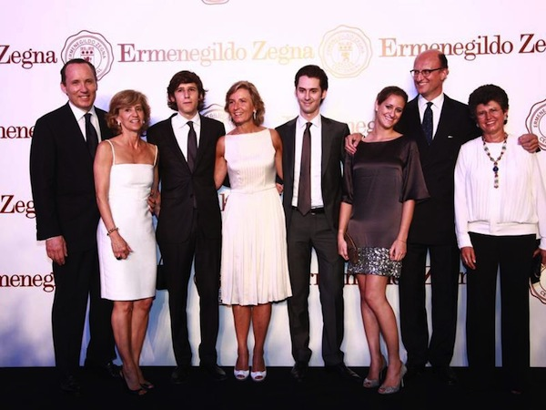 The Zegna Family