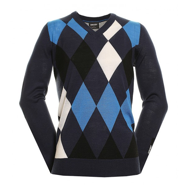 Mens Galvin green sweater