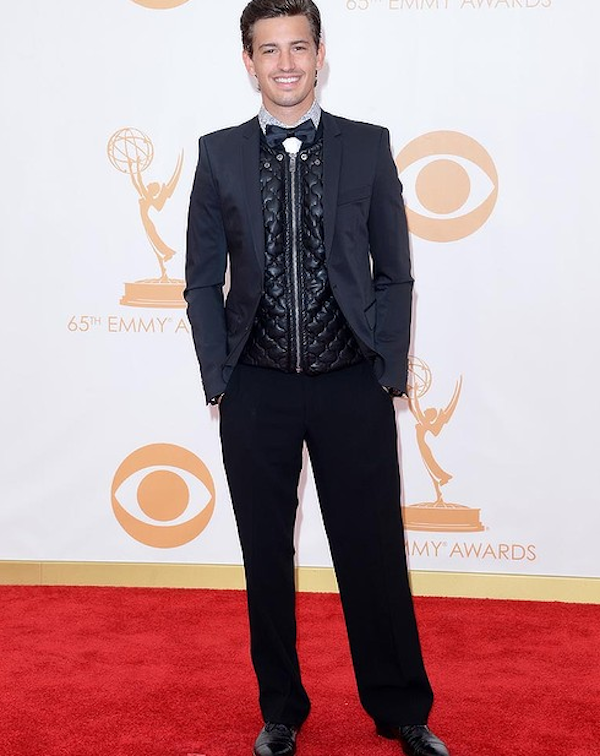 Asher Monroe at the Emmys