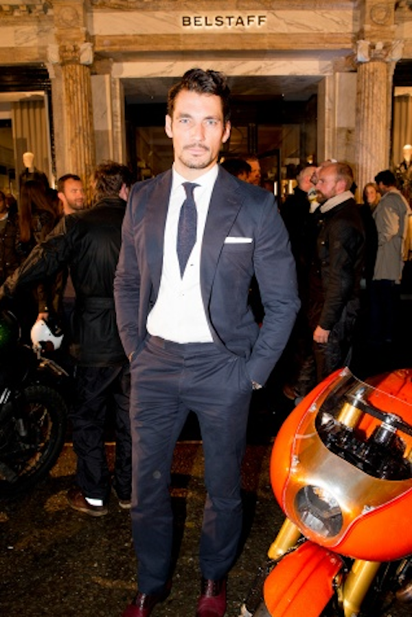 David Gandy at Belstaff
