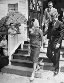 President Kennedy and Jackie