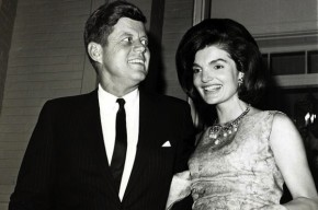 JFK blk suit