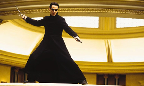 The Matrix length jacket worn by Keanu