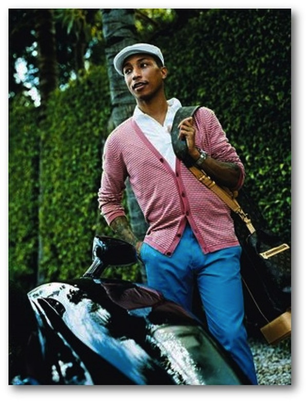 Pharrell knows how to do it. A Cabby's cap.