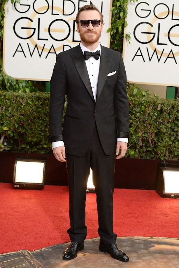 Michael Fassbender wearing Tom Ford