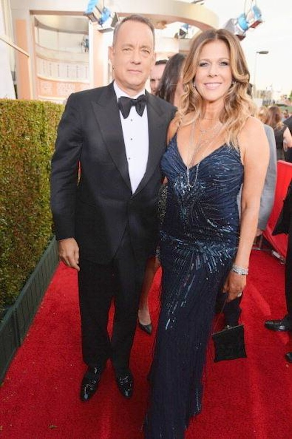 Tom Hanks wearing Tom Ford