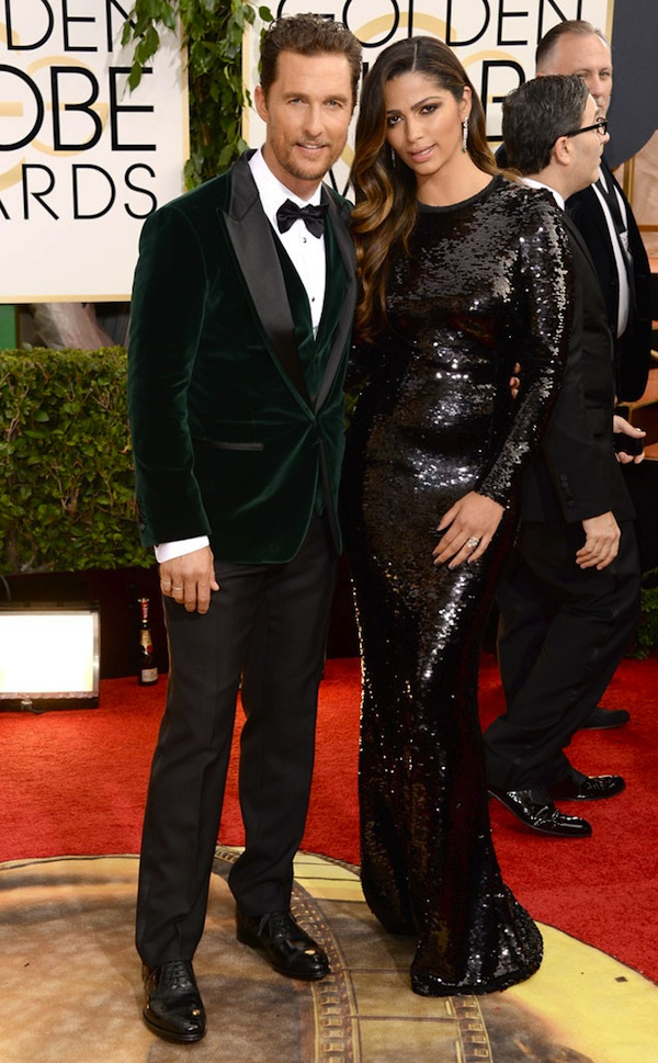 Matthew in Dolce and Gabbana emerald green tuxedo
