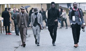 Winter Greys at Pitti Uomo