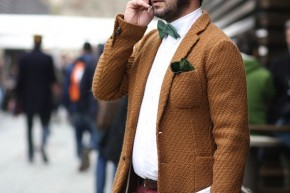 Texture was key at Pitti Uomo 85
