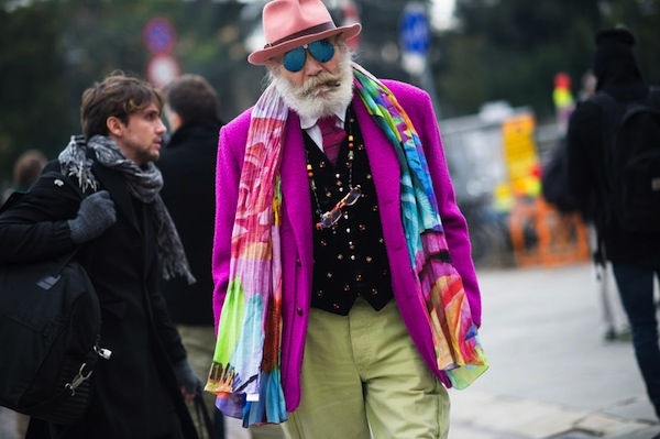 Congrats to Grand-pa on this uber-stylin'