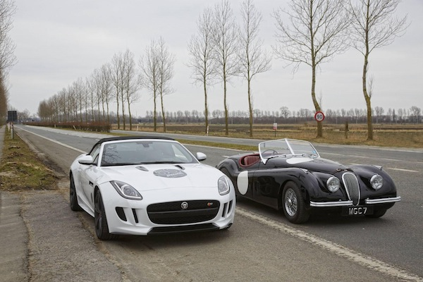 F-Type 2014-old and new