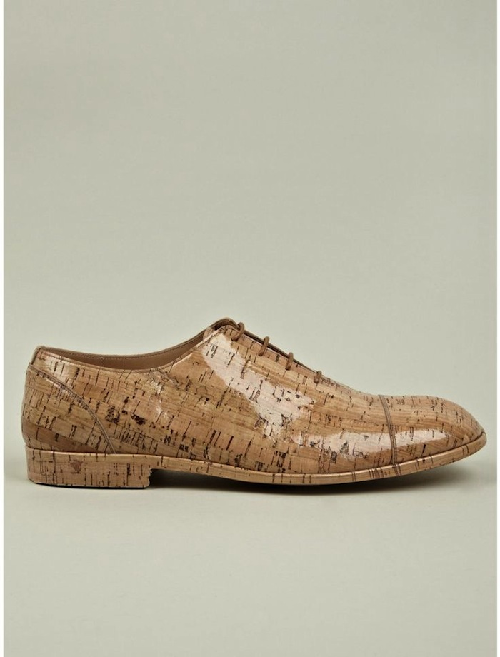 MMM-woodgrain shoe