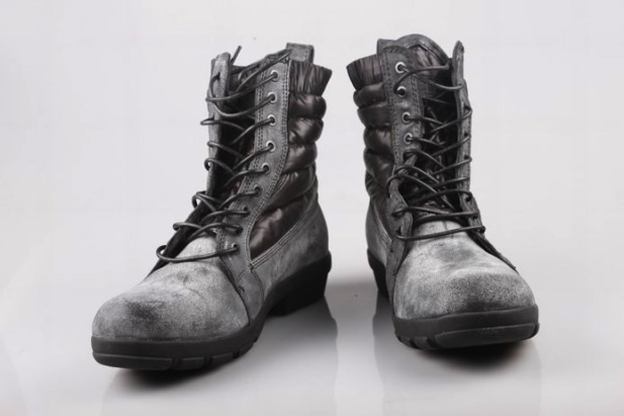 Moncler Mens Boots Grey