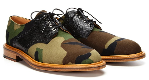 Mark McNairy woodland camo derby lace ups