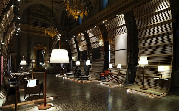 The installation took 10 days to build in the palazzo Picture: François Lacour