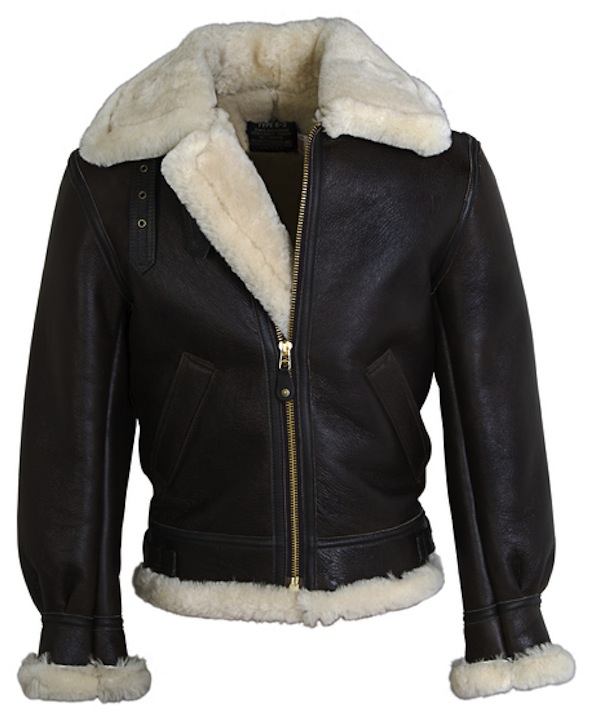 Schott Sheepskin leather bomber