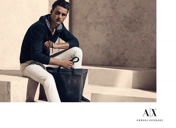 Armani Exchange has a surprise!