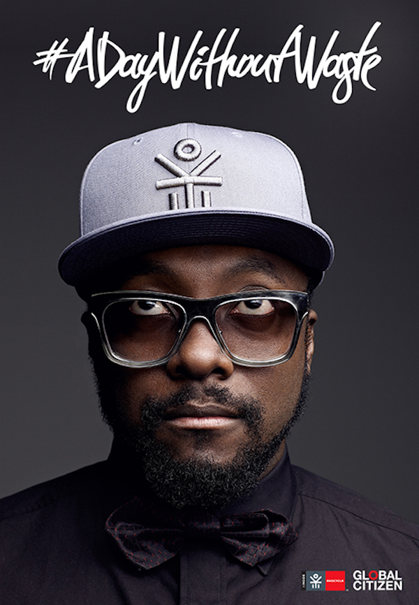 will.i.am a day without waste