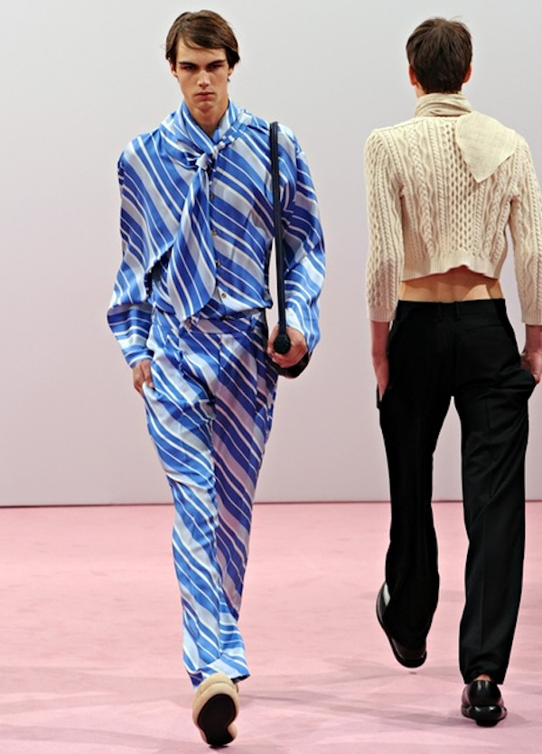70s style: J.W. Anderson: Runway -  London Collections: Men SS15