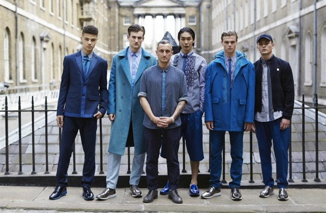 Richard Nicoll, finalist of the BFC/GQ Menswear Fund