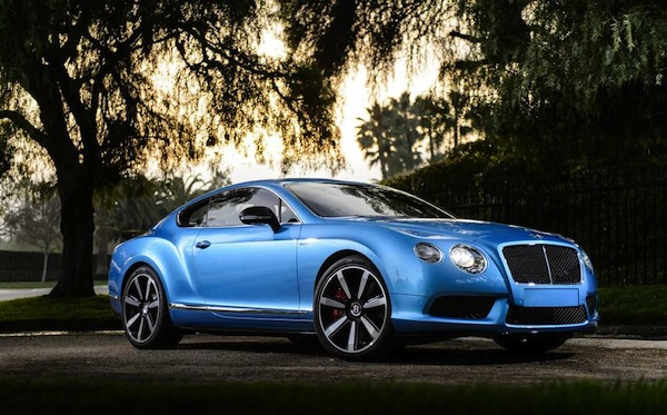 Bentley GT blue