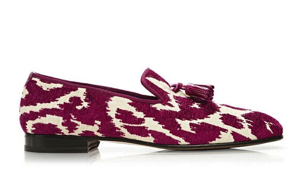 Tom Ford Chesterfield Print slipper