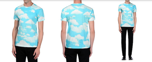Moschino-Mens-bluesky-tshirt